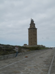On the way to the Tower of Hercules, it shouldn´t be surprising to hear a local playing the gaita
